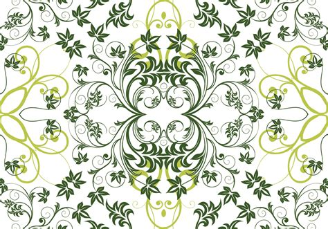 floral pattern repeat vector green floral repeat vector background download free