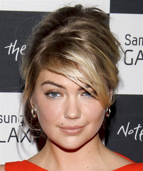 kate upton hair colour kate upton updo long straight casual updo hairstyle with