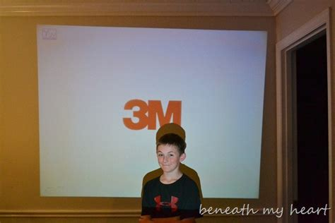 3m projector review and 150 target giftcard giveaway family fun with a 3m mobile projector and a 150 target
