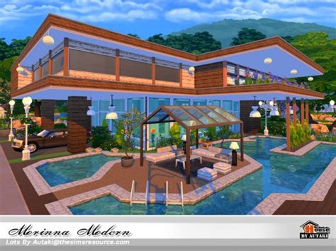 Best Website For Home Decor the sims resource morinna modern house by autaki sims 4