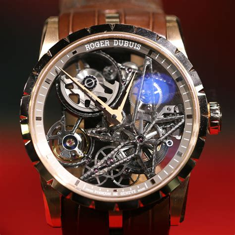 Roger Dubuis Excalibur World Time Silver sihh 2015 new roger dubuis excalibur skeleton watches updated with live photos and prices