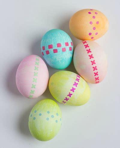 easter egg design stenciled easter egg decorating ideas