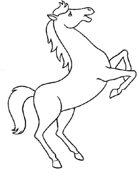 picture of a horse coloring page horse coloring pages 2 coloring town