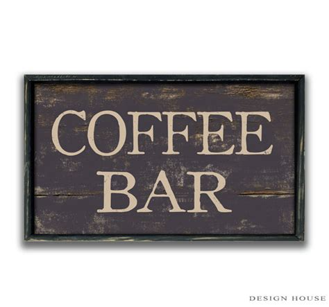 Handmade Wood Signs - handmade wood coffee bar sign business signs coffee shop signs