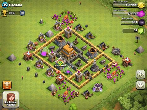 basic layout building guide clash of clans tips for building your village for new users clash of