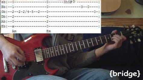 Lighting Crashes Chords by Lightning Crashes By Live Guitar Lesson Tabs W