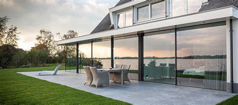casa con veranda finest trasparente con finestre scorrevoli di design with