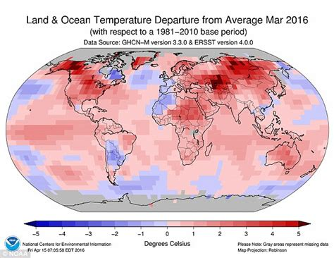 us average temperature map march march was the such period we ve had in modern