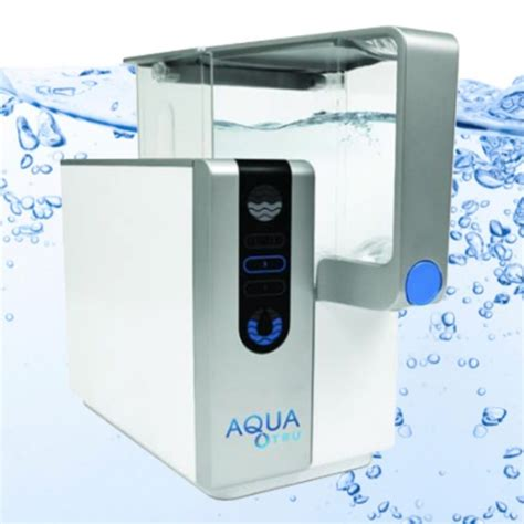 Countertop Water Filter Reviews by Aquatru Countertop Water Filter Review