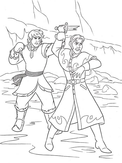frozen coloring pages kristoff walt disney coloring pages kristoff bjorgman prince