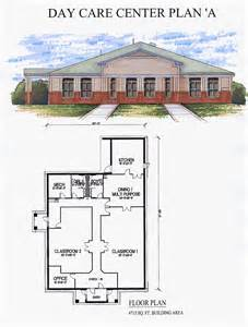 Sample Floor Plans For Daycare Center by Day Care Center Plan A