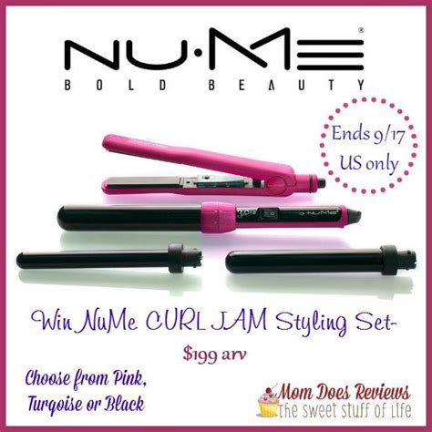 Nume Giveaway - nume curl jam styling set giveaway