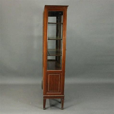 mahogany china cabinet for sale antique edwardian mahogany leaded glass china cabinet for