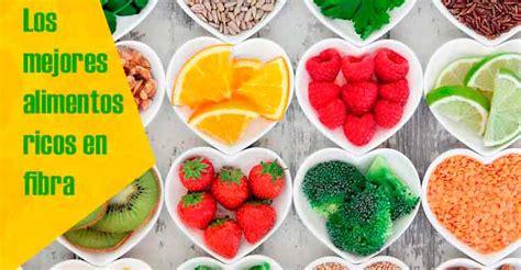 alimentos ricos en fibra soluble 13 alimentos ricos en fibra para el estre 241 imiento