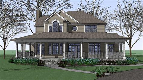 Farmhouse House Plans With Porches Colonial Homes Ranch House Plans Farm House Plans With Wrap Around Porches Interior