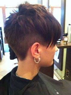 pics of the back of a pixie clipper cut clippered cut asymmetrical haircuts short hairstyle 2013