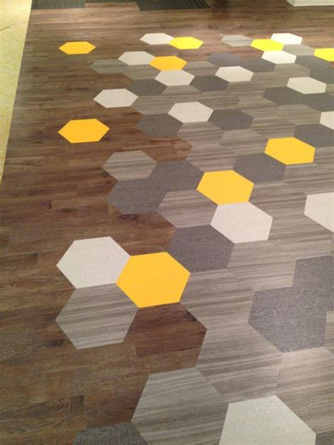 honeycomb pattern vinyl flooring amtico vinyl hex floor tiles from mannington usa