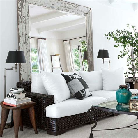 how to make living room look bigger how to make a small room look bigger with mirrors