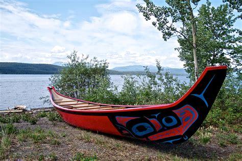 boat parts online canada tlingit boat at tlingit heritage center on teslin lake in