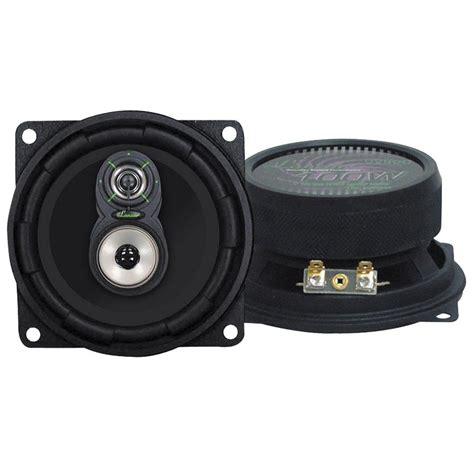 Lanzar Vx430 Vx 4 Quot 150w 3 Way Car Speakers At