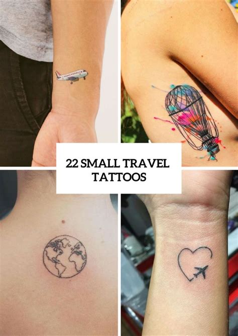 small travel tattoos best 10 small travel ideas on