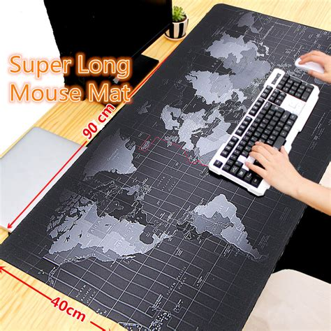 world map desk mat giant mouse pad 900x400x2mm large size world map mouse pad for laptop