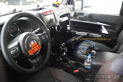 2018 jeep wrangler jl interior confirmed 2018 jeep wrangler still offers six speed