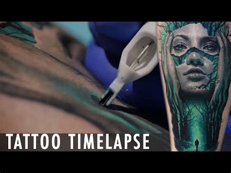 timothy boor painfulpleasures inc time lapse timothy boor tattoos color