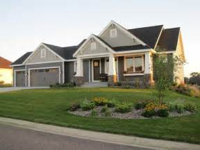 ranch style house exterior craftsman style rambler craftsman exterior minneapolis byexterior colors for ranch style