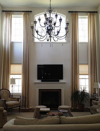 tall ceiling curtains 102 best two story drapery ideas images on pinterest