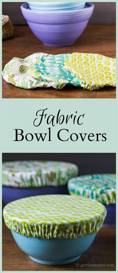 fabric crafts gifts fabric bowl covers tutorial easy beginner sewing project