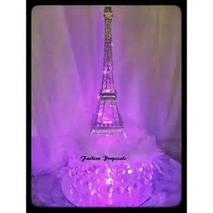 eiffel tower centerpiece 2 led eiffel towers centerpieces changing color eiffel tower set of 2 illuminated eiffel tower