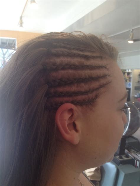 cornrow hairstyles half head half head cornrows yelp