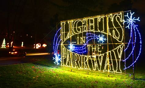 allentown lights in the parkway pictures allentown s lights in the parkway the morning call