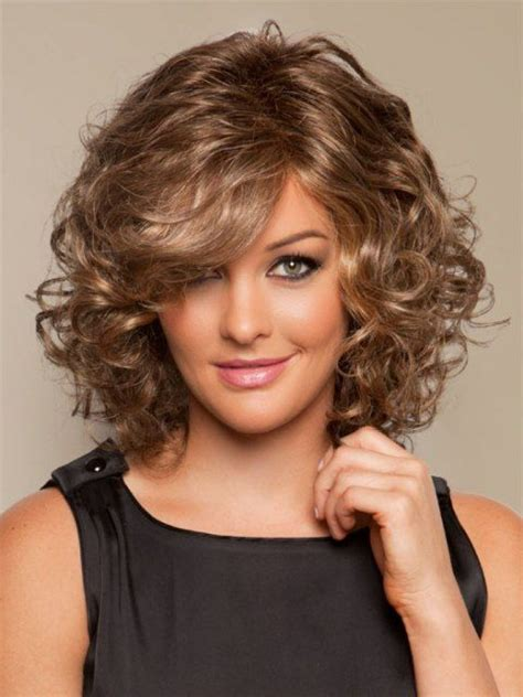 medium length curly haircuts 1000 ideas about medium