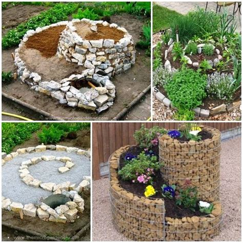 diy spiral herb gardens pictures photos and images for facebook tumblr pinterest and twitter diy herb spiral garden pictures photos and images for