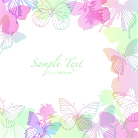 butterfly border template butterfly border pattern picture millions vectors