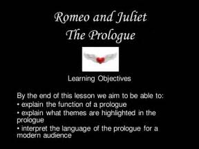the following would be considered themes of romeo and juliet except romeo and juliet prologue lesson by tiger bear