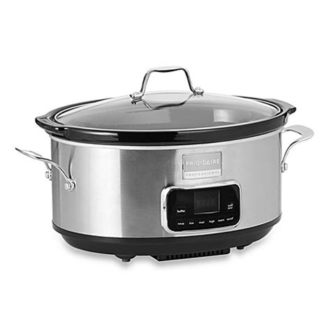 slow cooker bed bath and beyond frigidaire professional 174 slow cooker bed bath beyond