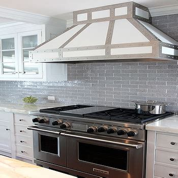 gray brick backsplash design decor photos pictures