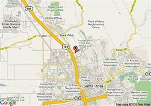 where is santa california on map santa rosa real estate and market trends