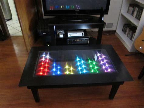 coffee table amazing modern led coffee table led light up