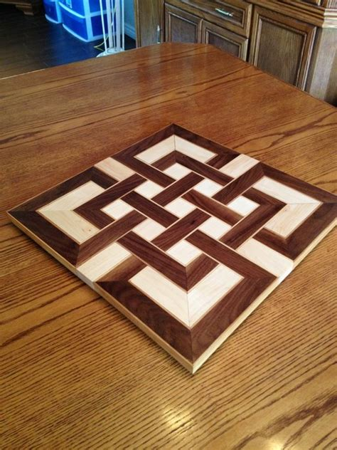 cool cutting board designs yet another celtic knot cutting board by mrmyke lumberjocks com woodworking community
