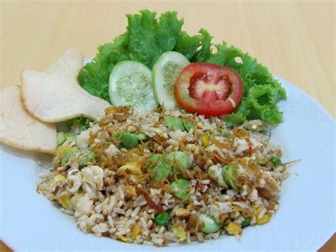 dapur lezat resto masakan indonesia nasi goreng ikan teri