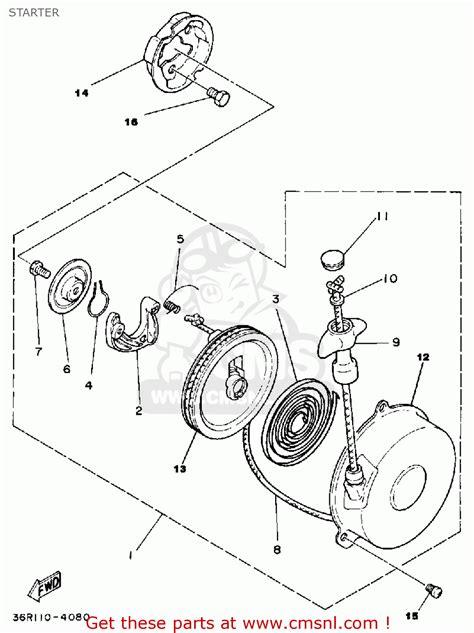100 yamaha zinger wiring diagram yamaha three