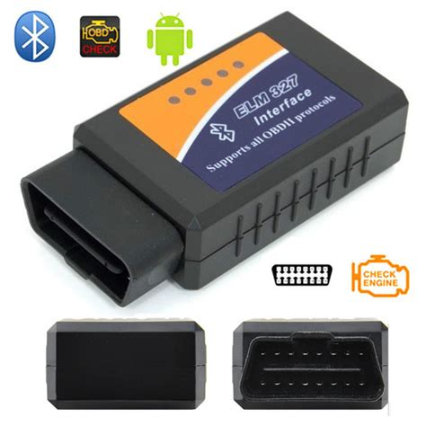 Car Diagnostic Elm327 Bluetooth Obd2 V16 Automotive Test Tool Black car diagnostic elm327 bluetooth obd2 v2 1 automotive test tool black jakartanotebook