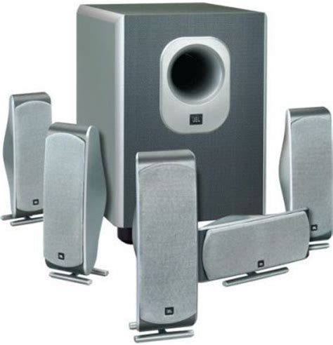 jbl scs 300 5 home theater speaker system with subwoofer