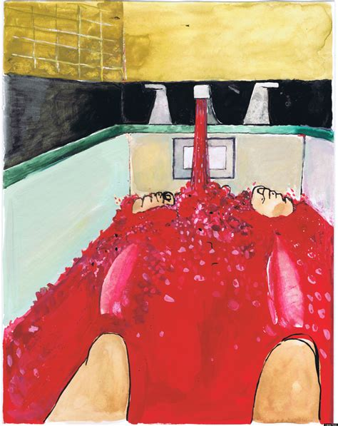 George Bush Paintings Bathtub by Not Necessarily The Work Of Superior Souls Liana