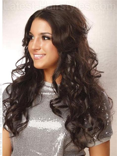 edgy hairstyles for long wavy hair some edgy curly hairstyles for long hair yahoo answers