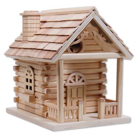 Duncraft Com Cabin Bird House Cabin Birdhouse Plans